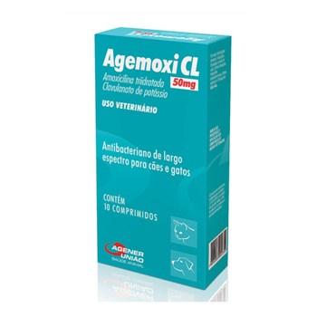 Agemoxi CL 50mg Antibiótico Agener União