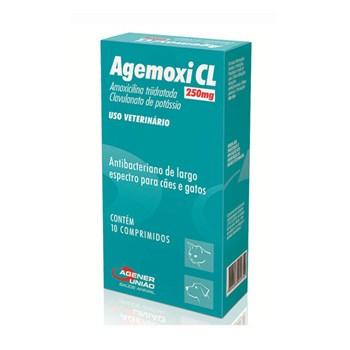 Agemoxi CL250mg Antibiótico Agener União