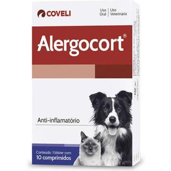 Alergocort  Anti-inflamatório com 10 comprimidos