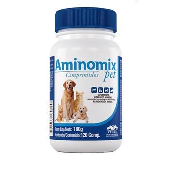 Aminomix Pet Suplemento Vitamínico com 120 comprimidos
