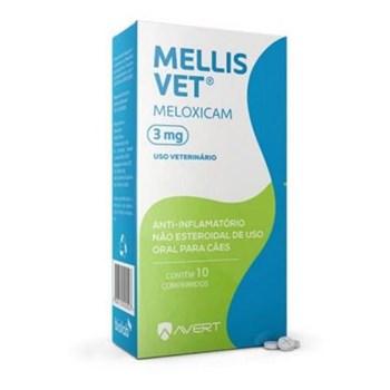 Anti-inflamatório Avert Mellis Vet com 10 comprimidos