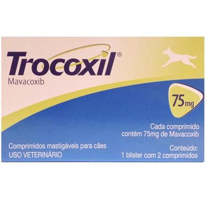 Anti-inflamatório Zoetis Trocoxil com 02 comprimidos