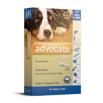 Antipulgas Bayer Advocate para Cães de 25 a 40kg  - 4 ml