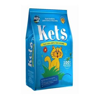 Areia Sanitária Alfapet Kets para Gatos 4kg