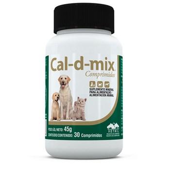 Cal D Mix Suplemento com 30 Comprimidos
