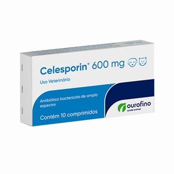 Celesporin Antibiótico 600mg com 10 Comprimidos
