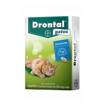 Drontal Vermífugo Gatos