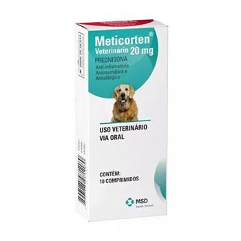 Meticorten Vet Anti-inflamatório com 10 Comprimidos