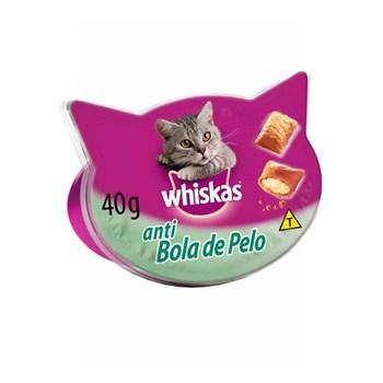 Petisco Whiskas Temptations Anti Bola de Pelo para Gatos 40g