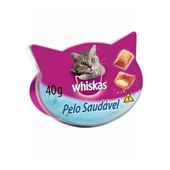 Petisco Whiskas Temptations Pelo Saudável para Gatos 40g