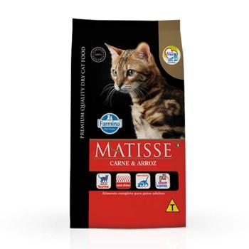Ração Farmina Matisse sabor Carne e Arroz para Gatos Adultos