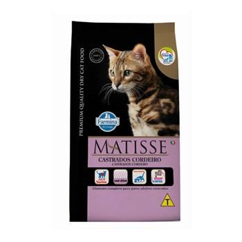Ração Farmina Matisse sabor Cordeiro para Gatos Adultos Castrados