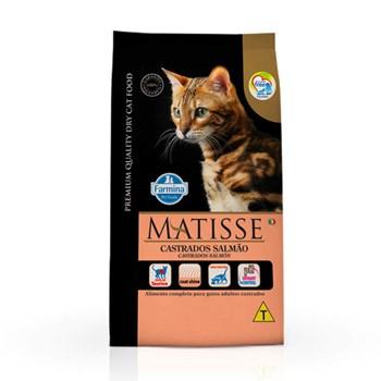 Ração Farmina Matisse sabor Salmão para Gatos Adultos Castrados
