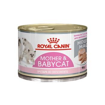 Ração Royal Canin Feline Lata Mother Baby para Gatos Filhotes de 1 a 4 meses de Idade  - 195g
