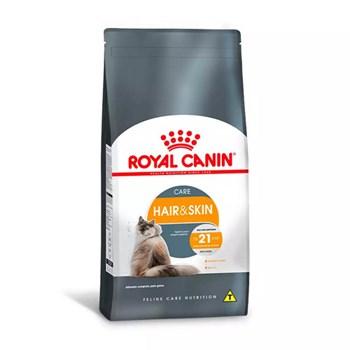 Ração Royal Canin Hair e Skin para Gatos Adultos - 1,5kg