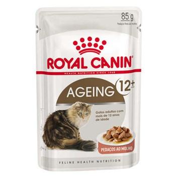 Ração Royal Canin Sachê Feline Health Nutrition Ageing +12 - 85g