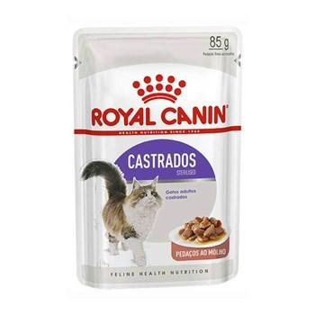 Ração Royal Canin Sachê Feline Sterilised wet para Gatos Castrados - 85g