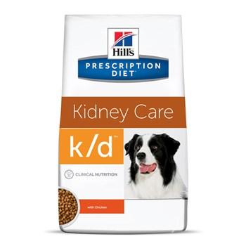 Ração Seca Hill's Prescription Diet K/D Cuidado Renal para Cães Adultos com Doença Renal