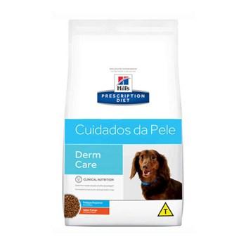 Ração Seca Hill's Prescription Diet Pedaços Pequenos Cuidados com a Pele para Cães Adultos