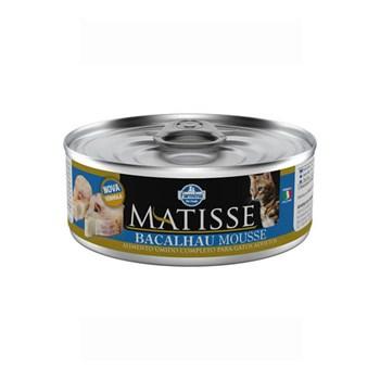 Ração Úmida Farmina Matisse sabor Mousse de Bacalhau para Gatos