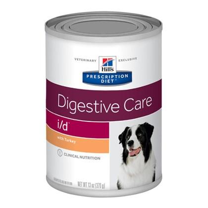 Ração Úmida Hill's Prescription Diet Lata I/D Cuidado Digestivo para Cães com Doenças Gastrointestinais 370g