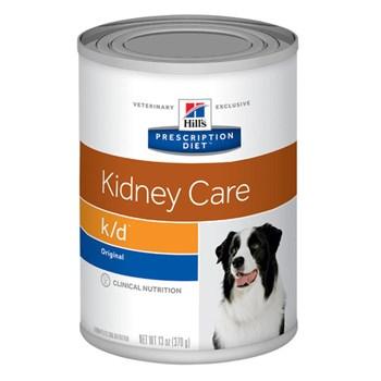Ração Úmida Hill's Prescription Diet Lata K/D Cuidado Renal para Cães Adultos com Doença Renal 370g