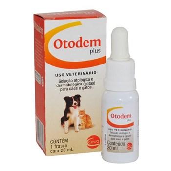 Solução Otológica e Dermatológica Otodem Plus 20mL
