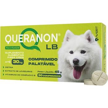 Suplemento Alimentar Avert Queranon para Cães até 30 Kg com 30 comprimidos