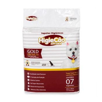 Tapete Higiênico Gold Premium Higiecão  - Tam. 56cmx80cm